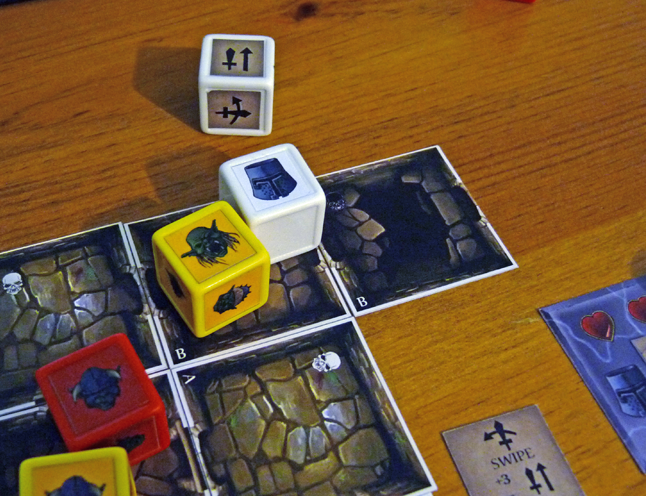 Dungeon in a Tin - Game in Progress